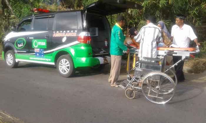 Program Layanan Ambulan Gratis Bagi masyarakat Yogyakarta dan NTB