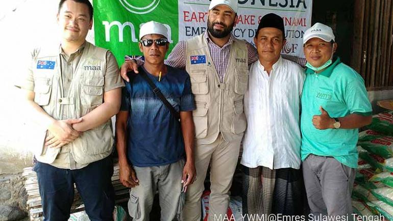 Bantuan tanggap darurat untuk masyarakta Sulawesi Tengah akibat gempa dan tsunami