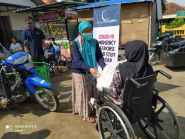 Bantuan Sembako Muslim Helfen Jerman Untuk Warga Terdampak Covid-19