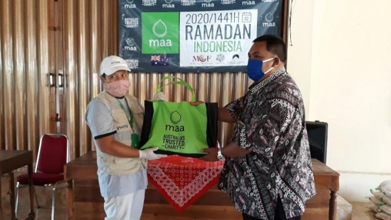YWMI Dan MAA Internasional bantu warga Sumberwungu
