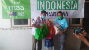 MAA Internasional Berbagi Paket Ramadhan Untuk Anak Yatim dan Fakir Miskin