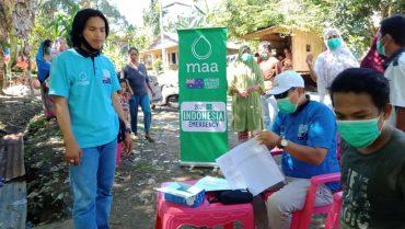 MAA International Australia Membantu Masyarakat Terdampak Gempa Bumi di Sulawesi Barat